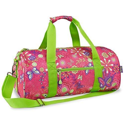 bixbee-butterfly-garden-duffle-bag-pink-large-by-bixbee