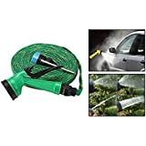 Shag 10 Meter Hose Pipe For Car Wash / Car Wash Pipe With Spray Gun