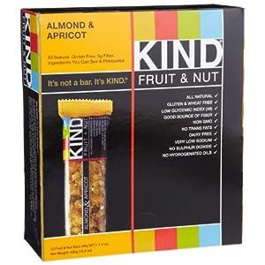 Amazon - KIND Fruit & Nut Almond & Apricot Bars (12-pack) - $10.43