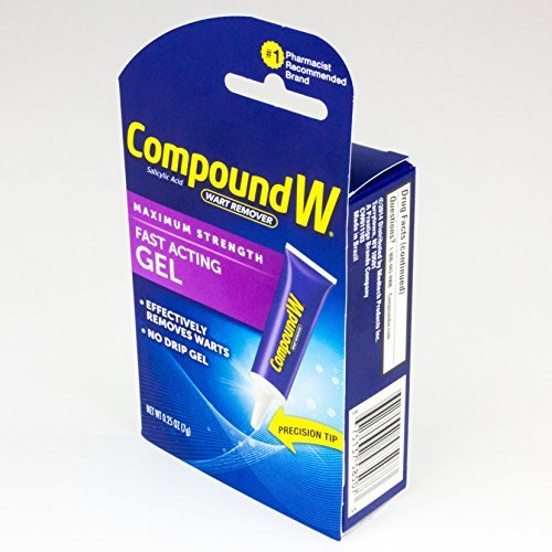 Compound W Wart Remover Fast-Acting Gel (1 oz)