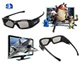 IR&BT 3D Active Glasses for samsung Panasonic LED WT50 ,LED WT60 ,Plasma DT60 ,TC-P60DT60 (60