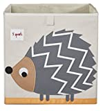 3 diseño de brotes caja de almacenamiento de tamaño gris gris