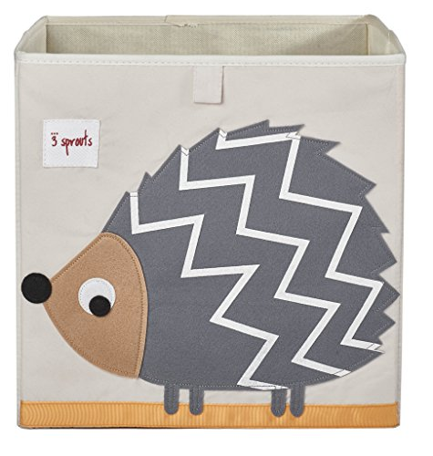 Cheapest Prices! 3 Sprouts Storage Box, Hedgehog, Grey