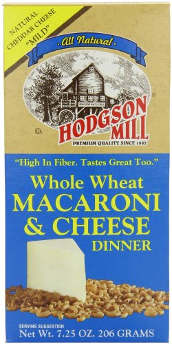 Hodgson Mill Whole Wheat Macaroni & Cheese Dinner, 7.25-Ounce Boxes (Pack of 12) (Whole Grain Mac And Cheese compare prices)