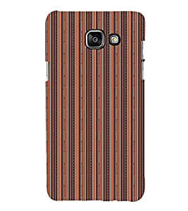 EPICCASE straight ethnic lines Mobile Back Case Cover For Samsung Galaxy A3 (2016) (Designer Case)