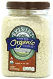 RiceSelect Organic Texmati White Rice, 32-Ounce Jars (Pack of 4)