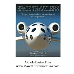 """Space Travelers"" Burt Rutan with George Takei"