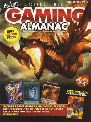 Beckett Collectible Gaming Almanac: A Comprehensive Price Guide to Gaming and Non-Sports Cards
