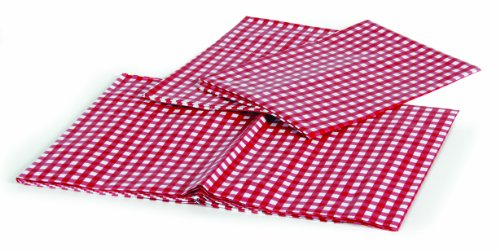 Camco 51021 Table Cloth Set with Table and Bench Covers (Red/White)
