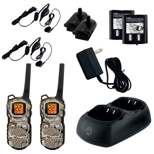 Ms355R Talkabout 2-Way Radios 35 Miles Realtree Apg Nimh Chrgr