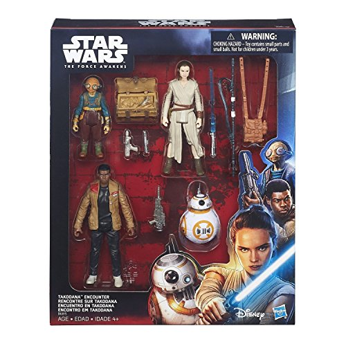 Star Wars: The Force Awakens 3.75 inch Takodana Encounter Pack by Star Wars