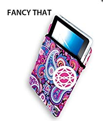 Fashion Smart Reversible Tablet Sleeve (Fancy That) - Compatible With Up To 10