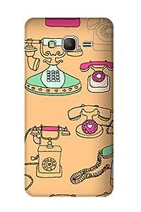 ZAPCASE PRINTED BACK COVER FOR SAMSUNG GALAXY GRAND DUOS Multicolor