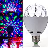 SODIALR RGB Crystal Ball E27 LED Rotating Stage Lighting Disco DJ Club Party Brand New