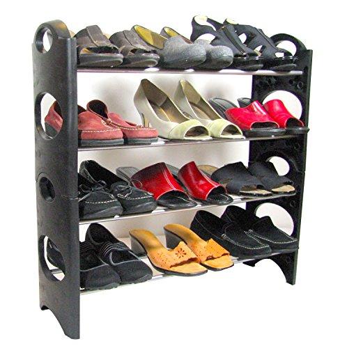 Best Shoe Rack Organizer For Closet Hallway Garage Entryway Import