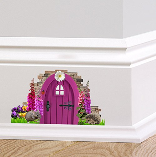 Foxglove for Fairy door for wall