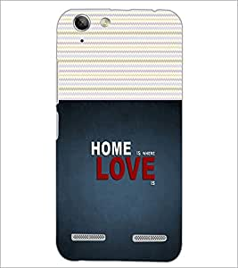PrintDhaba Quote D-2825 Back Case Cover for LENOVO VIBE K5 (Multi-Coloured)