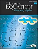 img - for The Learning Equation Elementary Algebra Student Workbook, Version 3.5 Online (Available Titles CengageNOW) book / textbook / text book
