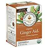 Traditional Medicinals Herbal Tea, Organic Ginger Aid, Wrapped Tea Bags, 16 bags 1.13 oz (32 g)