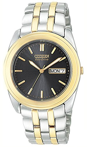 "Citizen Men's BM8224-51E ""Eco-Drive"" Two-Tone Stainless Steel Watch"