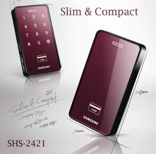 SAMSUNG Wine Captured Full Touch Digital Doorlock EZON SHS-2421 (SHS-2420) door / lock / Security keyless