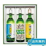 阿波の果実酒3本セット(すだち酒・ゆず酒)