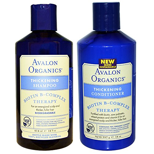 Avalon Organics All Natural Biotin B Complex Therapy