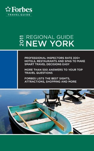 Forbes Travel Guide 2011 New York (Forbes Travel Guide Regional Guide)
