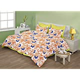"Birla Century Bedsheet FLORICA Polyester Cotton Blend Double Bed Sheet Size: 88"" X 96"" With Two Pillow Cover Size... - B00MY1I1KE"