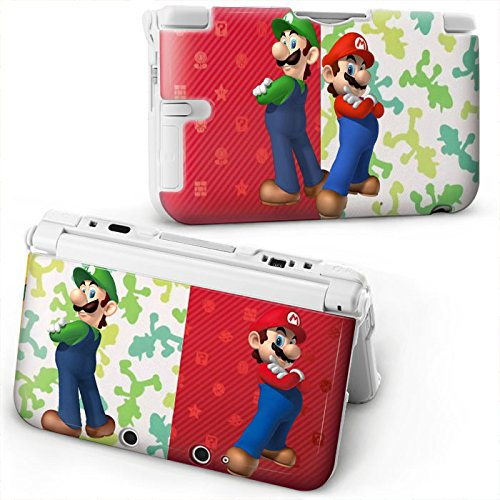 super-mario-bros-protective-hard-plastic-case-cover-for-old-style-nintendo-3ds-xl-console