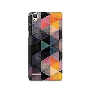 TAZindia Printed Hard Back Case Cover For Oppo F1