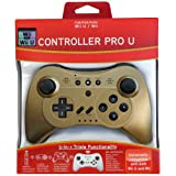 Pro Controller U For Wii And Wii U - Gold LE