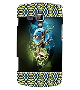 PrintDhaba Abstract Image D-4132 Back Case Cover for SAMSUNG GALAXY S DUOS 2 S7582 (Multi-Coloured)