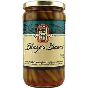 Blazes Beans Pickled Green Beans - 25 Oz Jar by Blaze's Beans