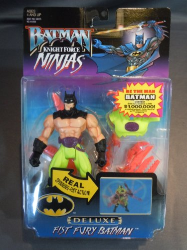 Batman: Knight Force Ninjas Fist Fury Batman Action Figure - 1