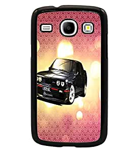 PrintDhaba Car D-3430 Back Case Cover for SAMSUNG GALAXY CORE i8262 (Multi-Coloured)