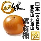 日本一の柿!! 和歌山 九度山の富有柿 秀品 2L寸 約28玉入 1箱
