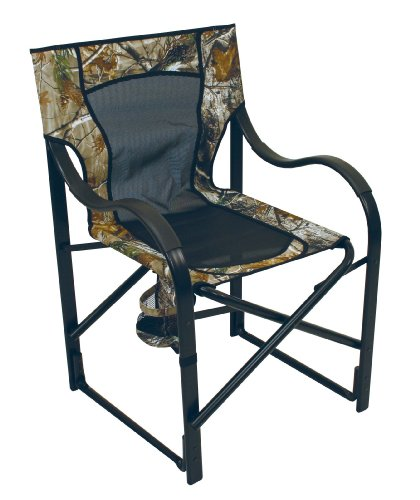 Heavy Duty Camp Chair Realtree Camo Hunting Camping Fishing Chair