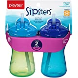 Playtex Sipsters Stage 2 Straw Sippy Cups - 9 Ounce - 2 Pack