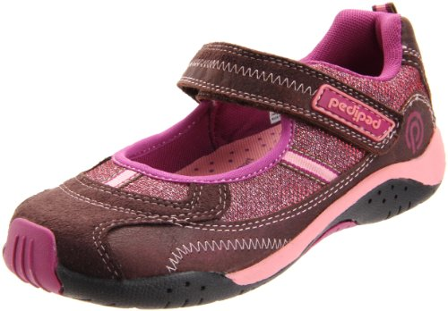 Pediped Flex Dakota Mary Jane (Toddler/Little Kid),Chocolate Brown,26 Eu (9-9.5 M Us Toddler)