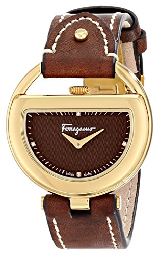 Salvatore Ferragamo Salvatore Ferragamo Women's FG5060014 BUCKLE Analog Display Quartz Brown Watch