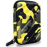 Tizum Cosmetic Organizer Toiletry Travel Kit Travel Organizer (Camouflage Yellow)