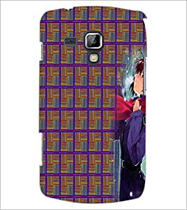 PrintDhaba Random Design D-4010 Back Case Cover for SAMSUNG GALAXY S DUOS 2 S7582 (Multi-Coloured)