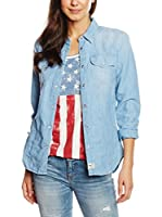 Blauer USA Camisa Vaquera (Azul)