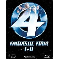 Fantastic Four 1 + 2 (limitierte Steelbook Edition) (Blu-ray)