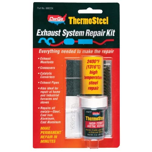 Amazon.com: Blue Magic 18022KTRI ThermoSteel Exhaust System Repair Kit