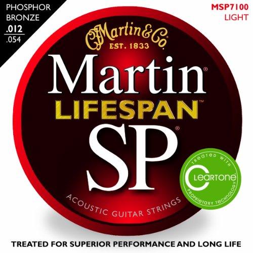 Martin SP 7100 Phosphor Bronze Lifespan Coated