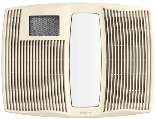 Broan Model QTX110HFLT Fan/Light/ Heater, 110 CFM 0.9 Sones