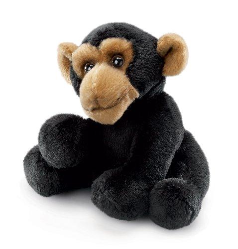 """Russ Berrie Yomiko Sitting Monkey 6"""" Beanbag - 1"""