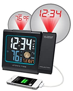 La Crosse Technology 616-146A Color LCD Projection 5-Inch Alarm Clock with Moon Phase at Sears.com